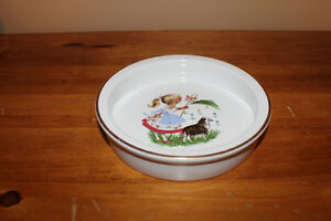 Vintage Staffordshire Baby Dish London Ontario image 1