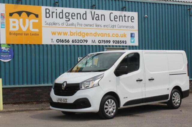 f4e9f62f57aece 2015 RENAULT TRAFIC SL27 BUSINESS PLUS 1.6 DCI 115 BHP DIESEL 6 SPEED MANUAL  VAN