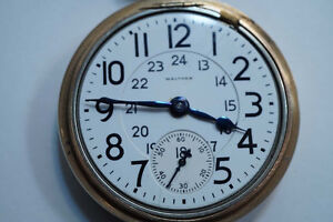 WANTED: CANADIAN/AMERICAN MADE POCKET WATCH - WALTHAM ELGIN ETC.