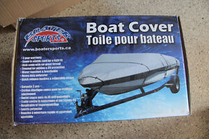 Brand new Boater sports canvas boat cover