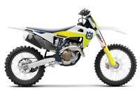 HUSQVARNA FC 250 2021 MODEL MOTORCROSS BIKE NOW AVAILABLE TO ORDER AT CRAIGS MC