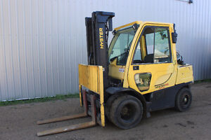 2006 Hyster 80 Forklift with duals