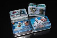 4X NHL HOCKEY-COLLECTION-BUBBLEGUM-LUNCH BOX (NEUF/NEW)