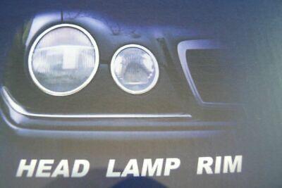 Chromringe Scheinwerfer passend für Mercedes CLK W208 Coupe / Cabrio
