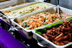TRAITEUR BUFFET asiatique - BUFFET CATERING asian food