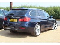 2014 14 BMW 3 SERIES 3.0 330D XDRIVE LUXURY TOURING 5D AUTO 255 BHP DIESEL