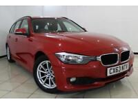 2013 63 BMW 3 SERIES 2.0 320D EFFICIENTDYNAMICS BUSINESS TOURING 5DR AUTOMATIC 1