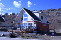Cottage Right On Lake Okanagan - Book Now For Fall!