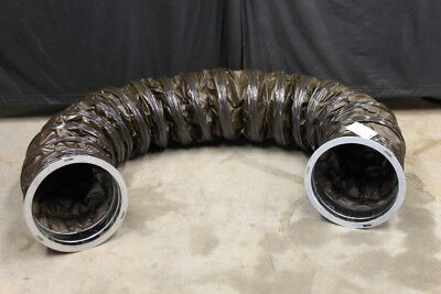 """Portable flex duct, 12"""" x 120"""" Insulated, 2 ply, Synthetic rubber/cotton Outdoor"""