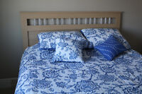 Used Queen Bed in good condition for sale