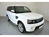 2012 WHITE RANGE ROVER SPORT 3.0 SDV6 HSE DIESEL AUTO CAR FINANCE FR £289 PCM