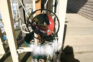 2 INDIAN HANGINGS/HAND MADE INDIAN MANDELLA/DREAM CATCHER London Ontario image 4