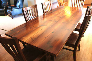 Rustic Dining Tables - Reclaimed Wood Dining Tables For Sale!