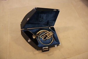 Used FRENCH HORN single + Mellophone