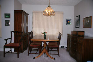 Nine-piece Dining Room Set