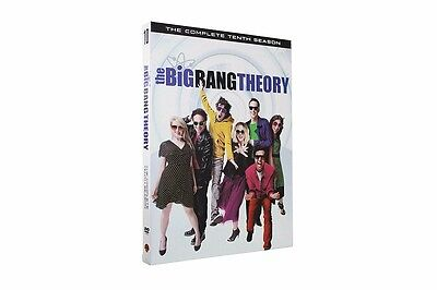 2017 New The Big Bang Theory Season 10  3  Dvd Set  Us Seller