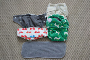 Mixed Cloth Diaper Lot - 13 One Size Pocket Diapers! SOLD PPU