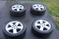 4 all season tires 205/55R16 with original rims
