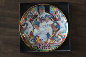 Rare Sports Impressions Nolan Ryan 300 Win Commemorative Plate