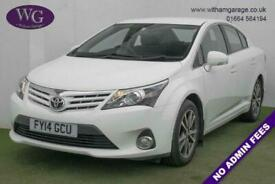 image for 2014 14 TOYOTA AVENSIS 2.0 D-4D ICON 4D 124 BHP DIESEL