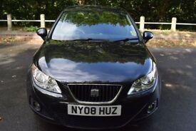 SEAT Ibiza 1.4I 16V SPORT - 6 MONTHS WARRANTY (black) 2008