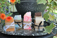 ★ Hand Crafted Wedding Favours (soaps)