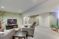 1 bdr. steps to Roncey/High park, in-suite laundry, new kitchen