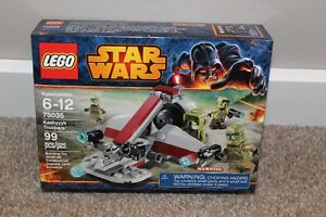Lego Battle Pack 75035 Kashyyyk Troopers 99 Pieces 4 Figures