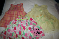 Girls  0-3 month summer clothes