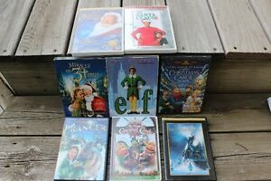 CHRISTMAS FAMILY  DVD MOVIES ALL FOR ONLY $20.00