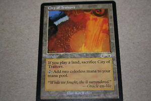 mtg magic the gathering card - City of Traitors