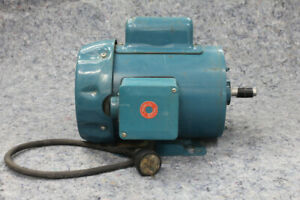 1 hp Motor - Made in England by GEC