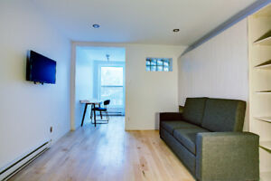 Mcgill Ghetto Downtown Montreal Loft All Included/All Furnished