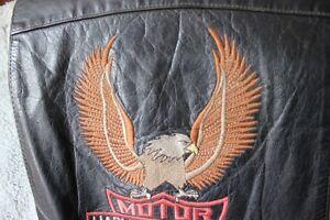 1970's HARLEY DAVIDSON Leather Vest (VIEW OTHER ADS) Kitchener / Waterloo Kitchener Area image 3