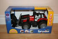 Bruder Massey Ferguson Tractor 7480 with front end loader