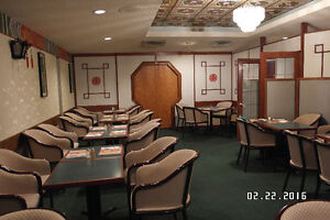 Chinese Restaurant For Sale/Lease
