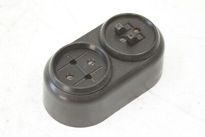 Antique Bakelite Socket Exposed with Series Switch Combination Art Deco Switch