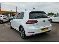 2019 Volkswagen GOLF ELECTRIC HATCHBACK 99kW e-Golf 35kWh 5dr Auto Hatchback Ele