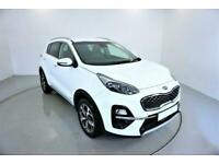 2018 WHITE KIA SPORTAGE 1.6 GDI ISG EDITION 25 ESTATE CAR FINANCE FR £306 PCM