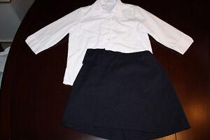 Uniformes pour fille taille 14/ size 14 girl school uniforms.
