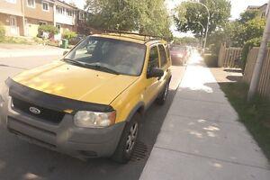 2001 Ford Escape XLT Familiale