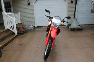 REDUCED!!! Slightly used 2017 CRF 250-L, only 1600kms