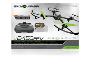 SKYVIPER DRONE V2450 FPV WITH STREAMING VIDEO