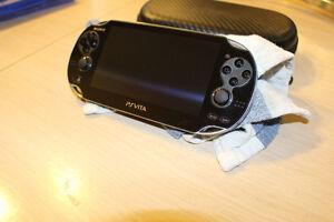 PSP Vita and Case