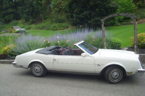 CLASSIC  1982  Buick Rivera Convertible  Rare  Only 1248 produce