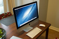 Apple iMac 27'' (2013) - 3TB Fusion Drive - 24GB Ram - Intel i7