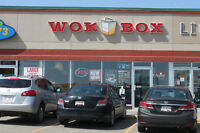 Profitable Wok Box for sale in Saint Albert.