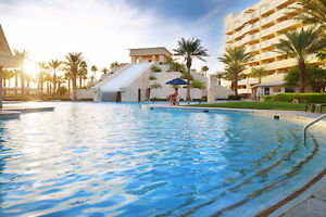 Escape the Cold at Resorts in Vegas /Mexico