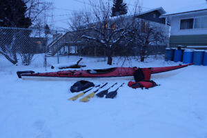 Kayak navigator 17ft. with ruder & Equipment !!