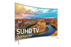 SAMSUNG 55IN UN55KS8500 CURVED 4K ULTRA HD SMART LD TV